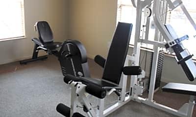 Fitness Weight Room, Deerwood Pines, 1