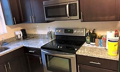 Kitchen, Captain Parker Arms, 1