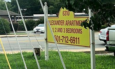 Alexander Apartments, 1