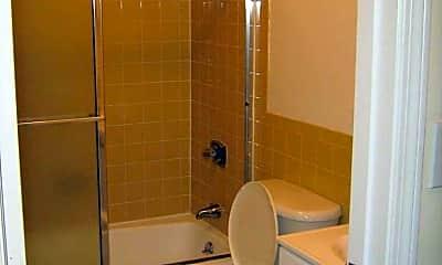 Bathroom, Minuteman Village, 2