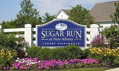 Community Signage, Sugar Run At New Albany, 1