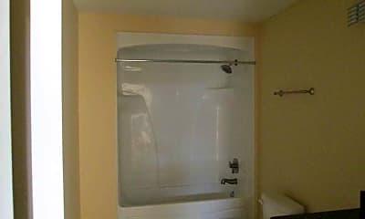 Bathroom, Oxford Place Apartments, 2