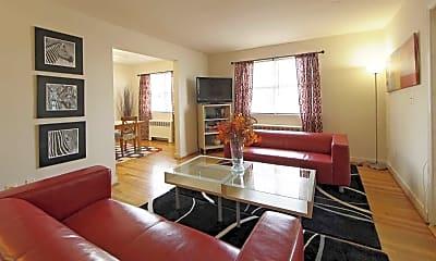 Living Room, Oak Ridge Apartment, 0