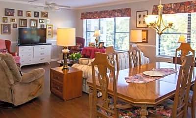 Dining Room, Hammond Glen & The Haven At Hg Senior Living, 2
