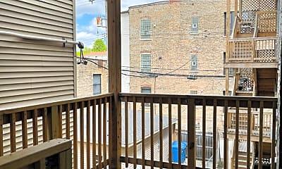 Patio / Deck, 2406 N Mozart St 2, 2