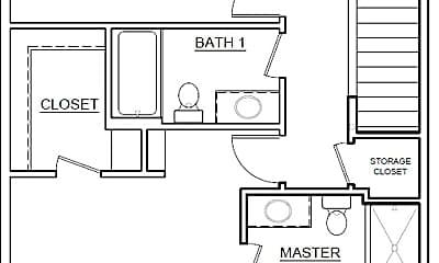 Bedroom, 14426 NE 22nd Ave, 2