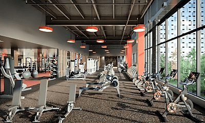 Fitness Weight Room, 28-18 Jackson Ave, 0