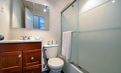 Bathroom, 401 W 57th St, 2