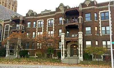 Building, 8643 E Jefferson Ave, 2