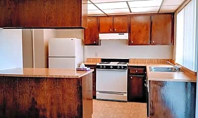 Kitchen, Creekside Apartments, 0