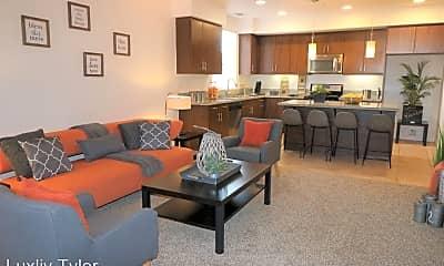 Living Room, 3901 Dawes St, 0