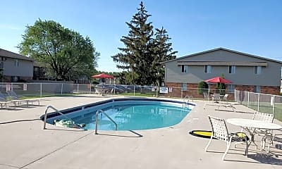 Pool, 3030 Spencer Street, 1