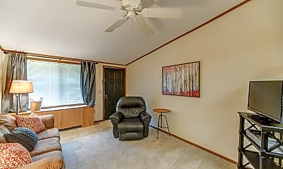 Living Room, Woods at Benvenue, 1