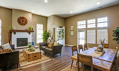 Clubhouse, Clearfield Station Apartments, 2