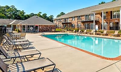 Pool, University Oaks, 1