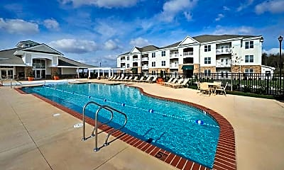 Pool, Tanglewood Lake Apartments, 1