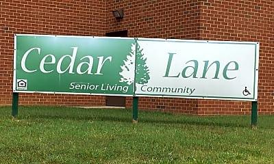 Cedar Lane Senior Living Community, 1