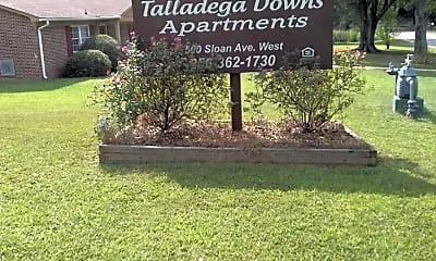 Talladega Downs Apartments, 1