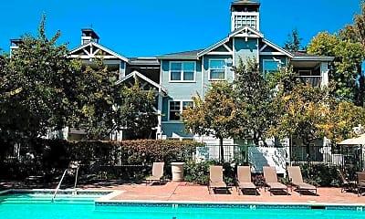 Pool, Nantucket Apartments, 2