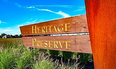 Community Signage, Heritage Preserve Apartments, 2