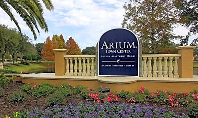 Community Signage, Arium Town Center, 2