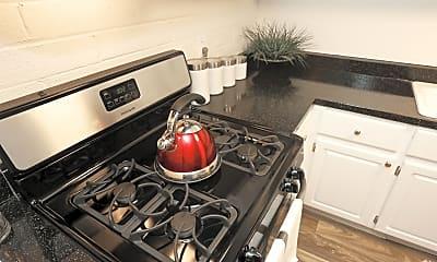Kitchen, Seventh Apartments, 1
