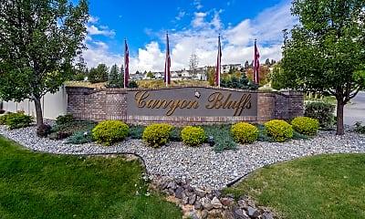 Community Signage, Canyon Bluffs, 0
