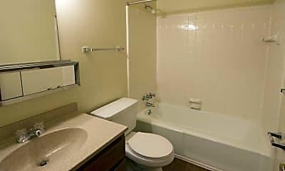 Bathroom, Clairemont Village, 2