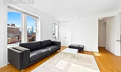 Living Room, 25 Charles St 5-A, 1