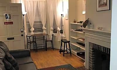 Living Room, 2431 I St NW, 2