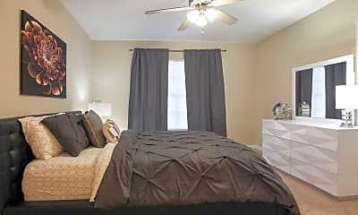 Bedroom, Hillcrest Estates Apartments, 1