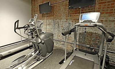 Fitness Weight Room, 14Forty, 1