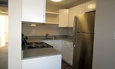 Kitchen, Gordon River Apartments, 2
