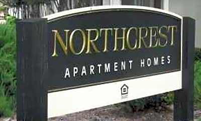 Building, Northcrest Apartments, 1