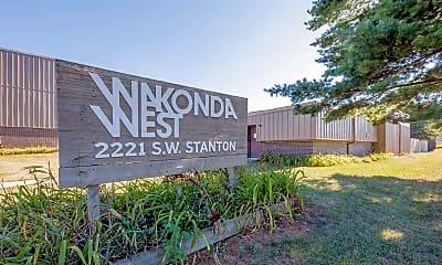Community Signage, Wakonda West Apartments, 0