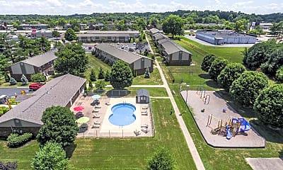 Pool, Kimber Green Apartments, 2