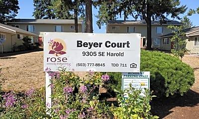 Beyer Court Apartments, 1