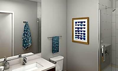 Bathroom, Identity Apartments, 2