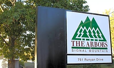 Community Signage, The Arbors At Signal Mountain Apartments, 2