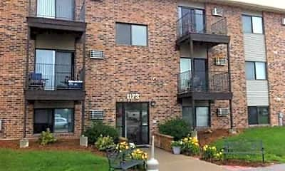 Building, Greenfield Apartments, 1