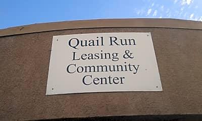 Quail Run, 1