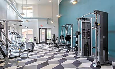 Fitness Weight Room, North 680, 0