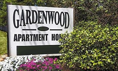 Community Signage, Gardenwood Apartments, 2