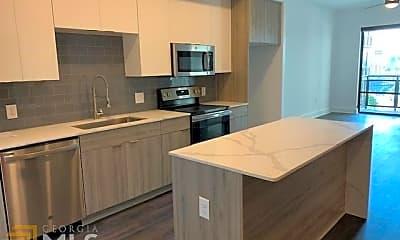 Kitchen, 1777 Peachtree St NE 815, 1