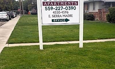 Community Signage, 4572 E Sierra Madre Ave, 0
