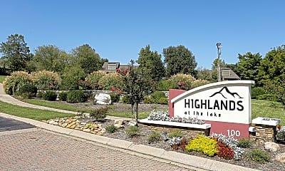 Community Signage, Highlands at the Lake, 2