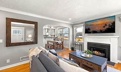 Living Room, 4946 NE 13th Ave, 1