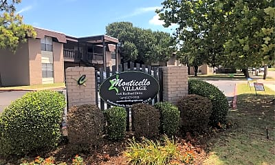 Monticello Village Apartments, 1