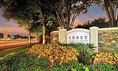 Community Signage, The Abbey at Vista Ridge, 2