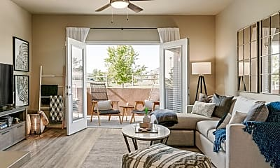 Living Room, The Ridge at Thornton Station Apartments, 1